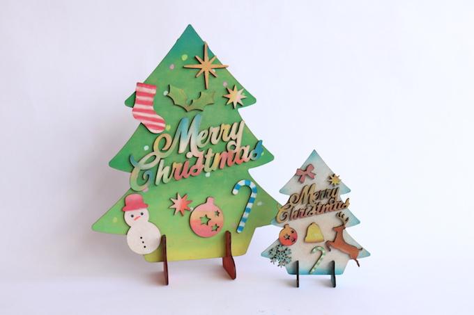 [12月限定]クリスマスツリーづくり イメージ1